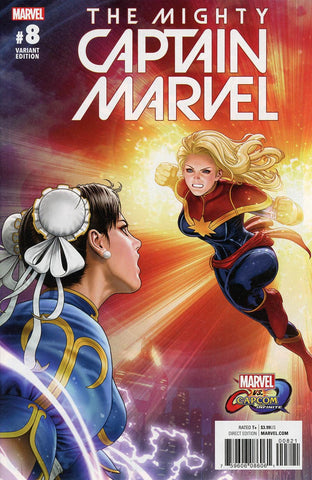 MIGHTY CAPTAIN MARVEL #8 SE MARVEL VS CAPCOM VAR