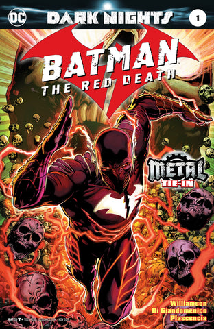 BATMAN THE RED DEATH #1 (METAL) FOIL STAMPED COVER
