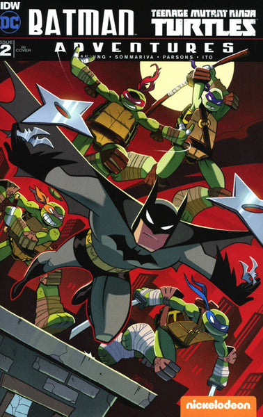 BATMAN TMNT ADVENTURES #2 10 COPY INCV