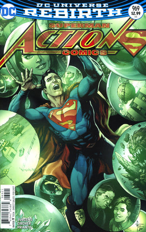ACTION COMICS #969 VOL 2 COVER B FRANK VARIANT