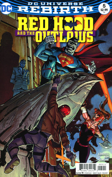 RED HOOD & THE OUTLAWS #5 VOL 2 COVER A 1st PRINT