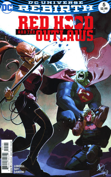 RED HOOD & THE OUTLAWS #5 VOL 2 COVER B SCALERA VARIANT