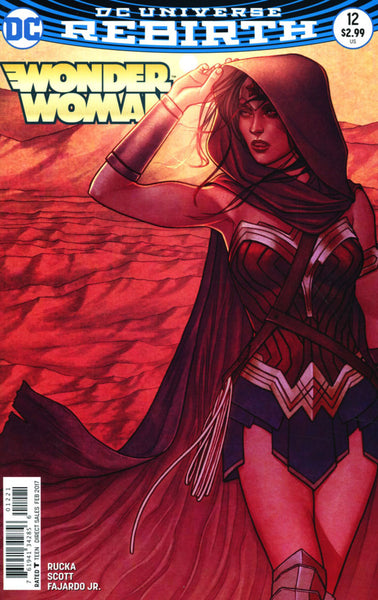 WONDER WOMAN #12 VOL 5 COVER B FRISON VARIANT