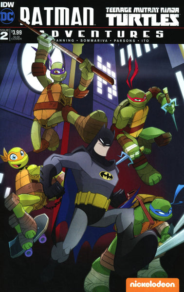 BATMAN TMNT ADVENTURES #2 SUB VARIANT B