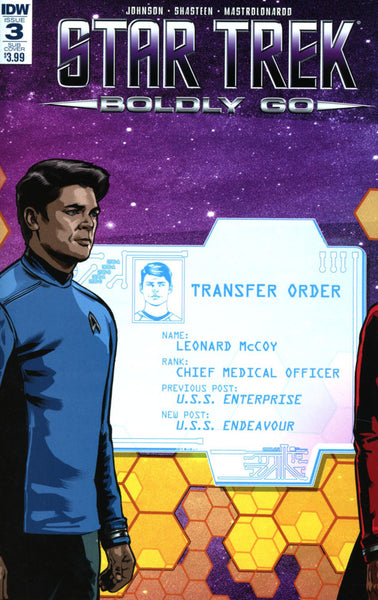 STAR TREK BOLDLY GO #3 SUBSCRIPTION VAR