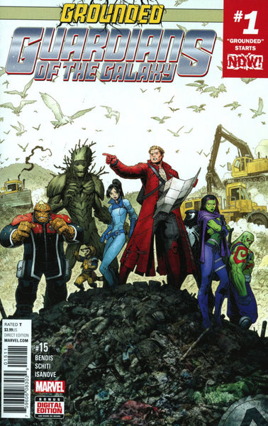 GUARDIANS OF THE GALAXY #15 VOL 4 COVER A 1st PRINT