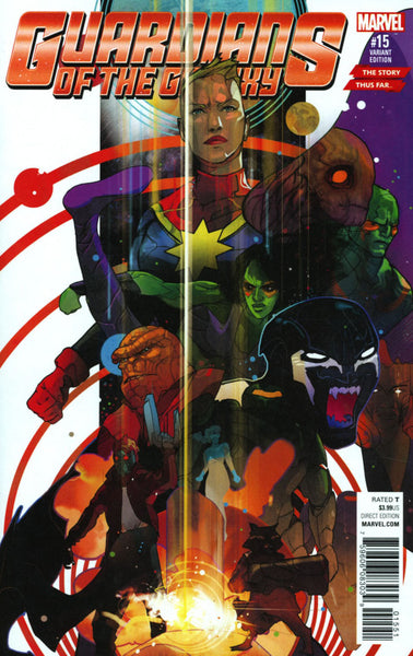 GUARDIANS OF THE GALAXY #15 VOL 4 COVER C STORY THUS FAR VARIANT