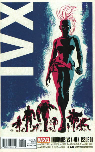 IvX #1 COVER VARIANT B MICHAEL CHO