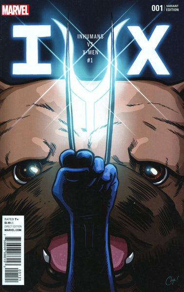 IvX #1 COVER VARIANT E PARTY