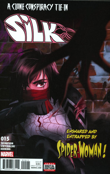 SILK #15 VOL 2 COVER A 1st PRINT