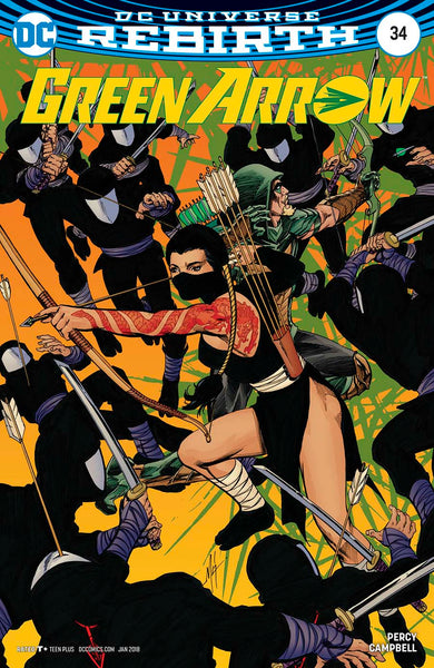 GREEN ARROW #34 VAR ED