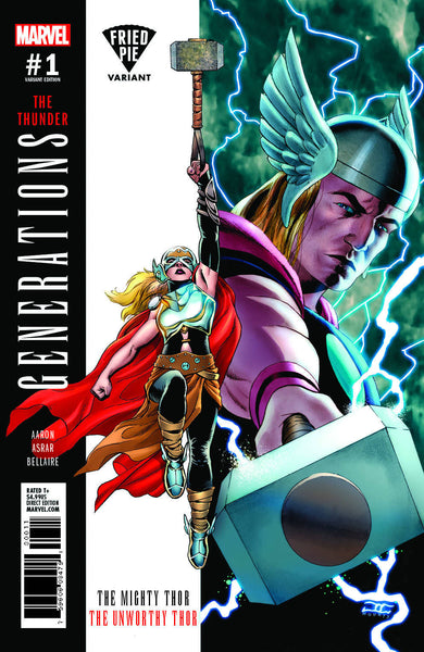 GENERATIONS UNWORTHY THOR & MIGHTY THOR #1 FRIED PIE EXCLUSIVE