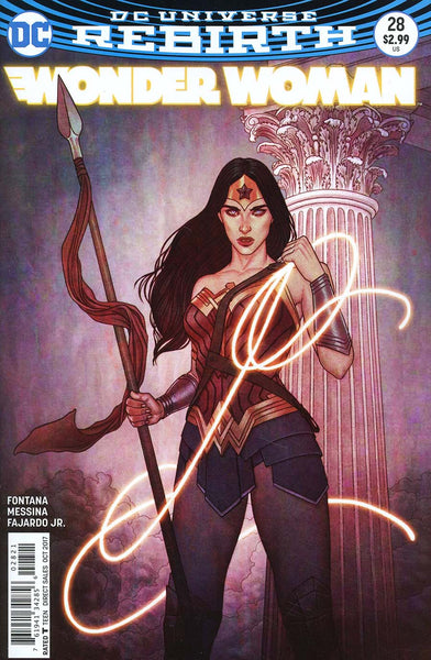 WONDER WOMAN #28 VAR ED