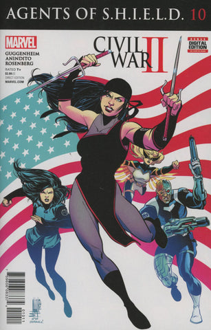 AGENTS OF SHIELD #10 1ST PRINT