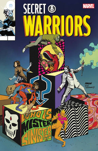 SECRET WARRIORS #8 JOHNSON LH VAR LEG WAVE 2