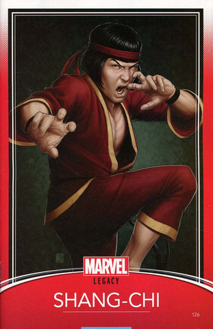 MASTER OF KUNG FU #126 CHRISTOPHER TRADING CARD LEG
