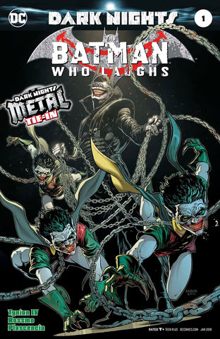 BATMAN WHO LAUGHS #1 (METAL) LIMIT 1 PER