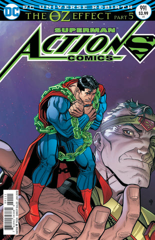 ACTION COMICS #991 LENTICULAR ED (OZ EFFECT)