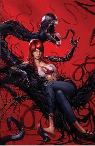VENOM #150 ORLANDO MEGACON FRANCESCO MATTINA VIRGIN VARIANT