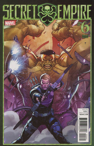 SECRET EMPIRE #6 (OF 9) YU VAR