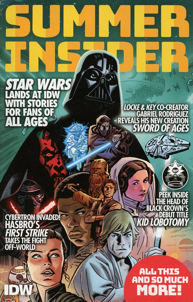 IDW SUMMER INSIDER -- FREE - LIMIT 1 PER