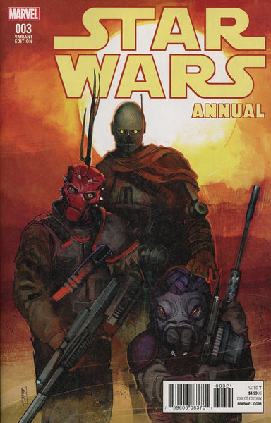 STAR WARS ANNUAL #3 REIS VAR