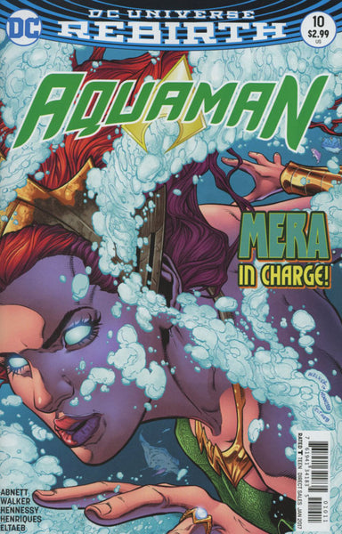 AQUAMAN VOL 6 #10 COVER A 1ST PRINT