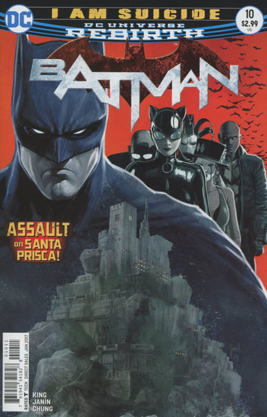 BATMAN VOL 3 #10 COVER A 1ST PRINT
