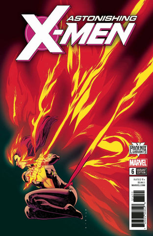 ASTONISHING X-MEN #6 ANKA PHOENIX VAR