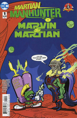 MARTIAN MANHUNTER MARVIN THE MARTIAN SPECIAL #1 VAR ED