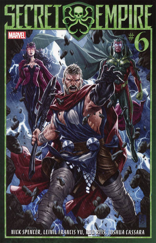 SECRET EMPIRE #6 (OF 9)