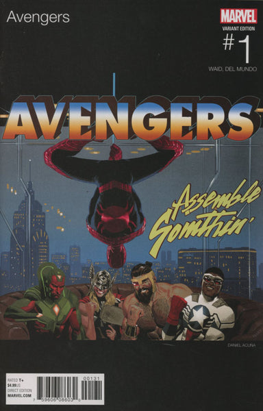 AVENGERS VOL 6 #1 COVER VARIANT B HIP HOP