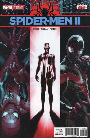 SPIDER-MEN II #1 (OF 5) 2ND PTG PICHELLI VAR