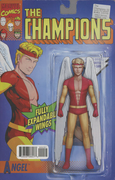 CHAMPIONS VOL 2 #2 COVER VARIANT C CLASSIC ACTION FIGURE ANGEL