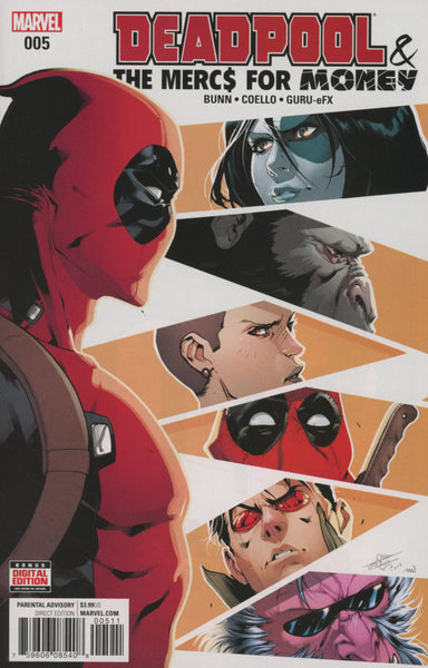 DEADPOOL & THE MERCS FOR MONEY V2 #5 COVER A 1st PRINT