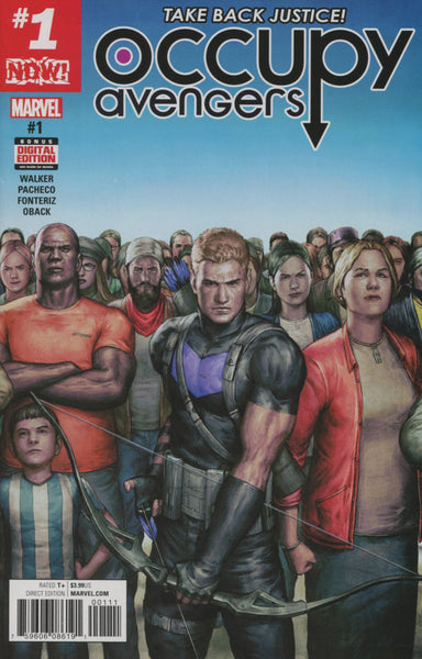 OCCUPY AVENGERS #1 COVER A 1st PRINT