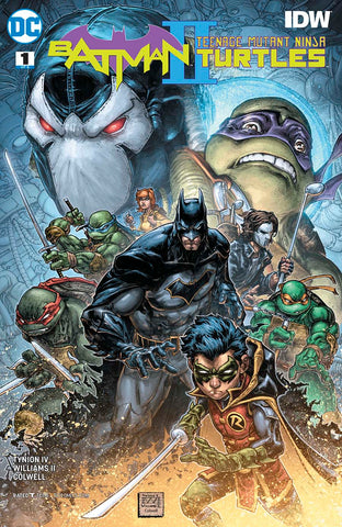 BATMAN TEENAGE MUTANT NINJA TURTLES II #1 (OF 6)