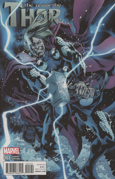 UNWORTHY THOR #1  CASSADAY VAR