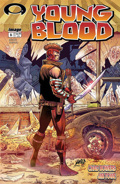 YOUNGBLOOD #6 CVR C WALKING DEAD #1 TRIBUTE VAR