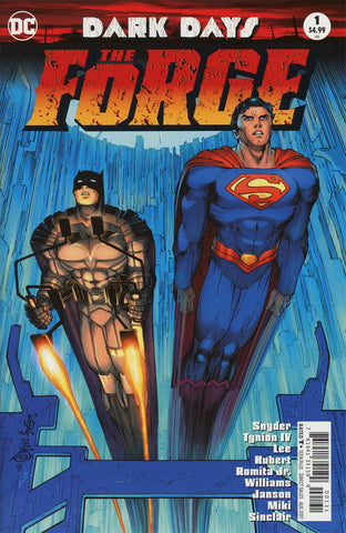 DARK DAYS THE FORGE #1 ROMITA VAR ED