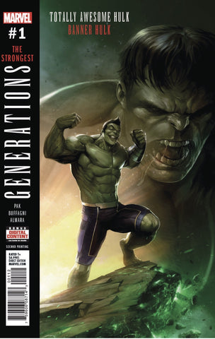 GENERATIONS BANNER HULK & TOTALLY AWESOME HULK #1 2ND PTG VA