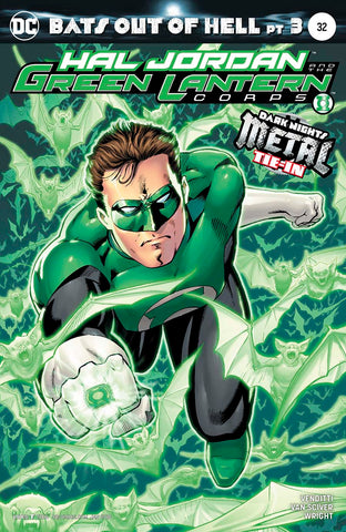 HAL JORDAN AND THE GREEN LANTERN CORPS #32 VAR ED