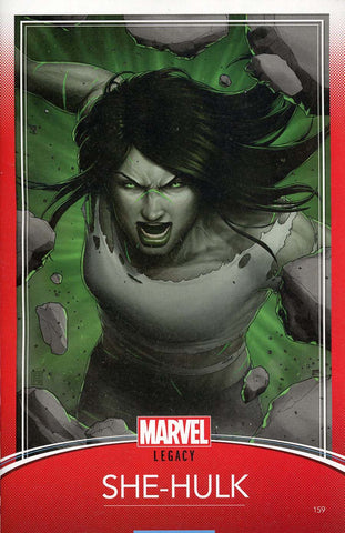 SHE-HULK #159 CHRISTOPHER TRADING CARD VAR LEG