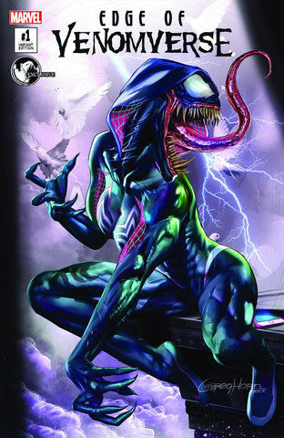 EDGE OF VENOMVERSE #1 UNKNOWN EXCLUSIVE CVR A GREG HORN