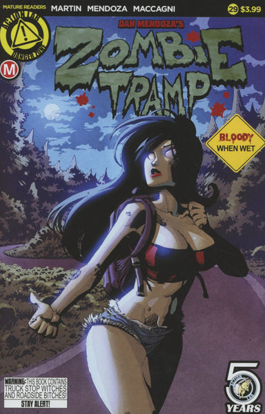 ZOMBIE TRAMP #29 COVER A MAIN