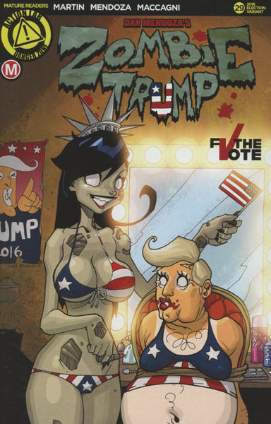 ZOMBIE TRAMP #29 COVER VARIANT E ELECTION