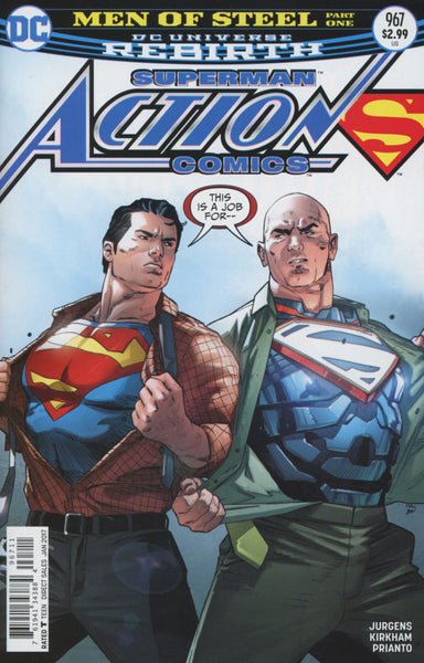 ACTION COMICS VOL 2 #967 COVER A 1st PRINT