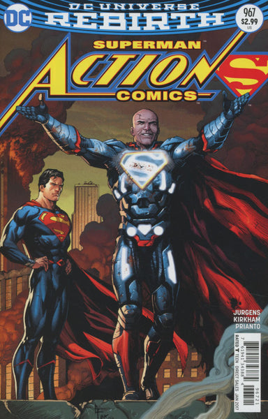 ACTION COMICS VOL 2 #967 COVER VARIANT B GARY FRANK