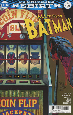 ALL STAR BATMAN #4 COVER A 1st PRINT