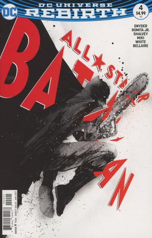 ALL STAR BATMAN #4 COVER VARIANT B JOCK